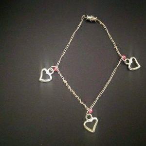 Red of Hearts Bracelet